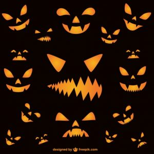 halloween powerpoint background wallpaper of halloween horror faces