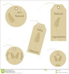 hang tag template organic wheat natural labels tags