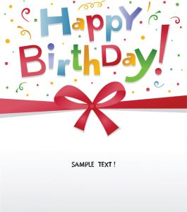 happy birthday banner template best happy birthday design elements vector set