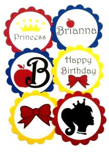 happy birthday banner template snow white copy