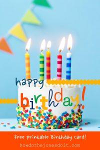 happy birthday images free happy birthday card free printable