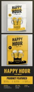 happy hour flyer image preview