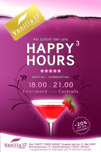 happy hour flyer vanilla happy hour flyer by richardcorral