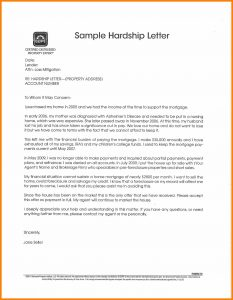hardship letter sample sample mortgage hardship letter