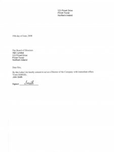 hardship letter template ireland consent letter pdf page shot