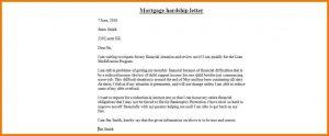 hardship letter template mortgage hardship letter mortgage hardship letter