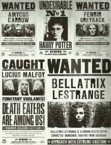 harry potter printable posters orig