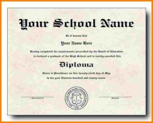 high school diploma template high school diploma template high school diploma template download