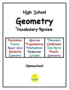 high school geometry original