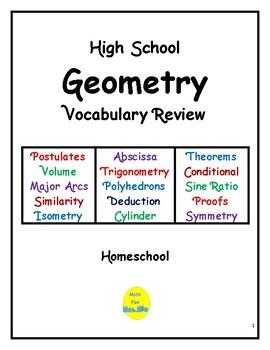 high school geometry