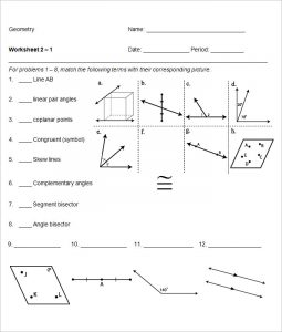 high school geometry worksheets example high school geometry worksheet template