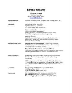 high school resume examples resume example high school resume examples for high school with 19 interesting sample resume of high school graduate