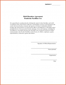 hold harmless agreement sample hold harmless agreement sample hold harmless agreement template leygcj