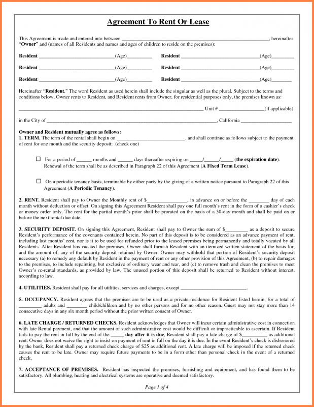 hold harmless agreement template