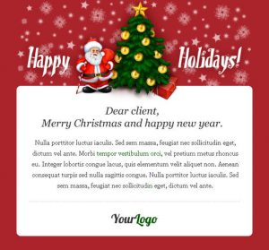 holiday email template christmas e mail templates