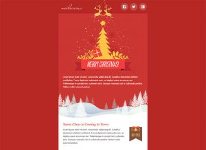 holiday email template christmas email templates