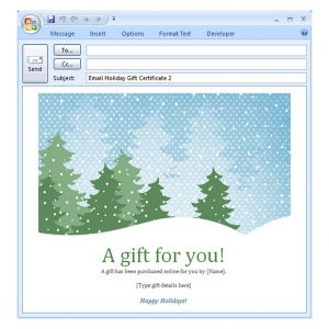 holiday email template holiday email template