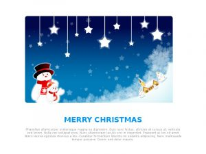 holiday email template merrychrystmas