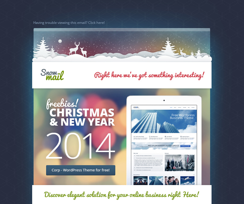 Holiday Newsletter Template Template Business