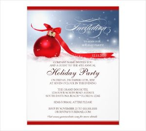 holiday party flyer corporate holiday party flyer