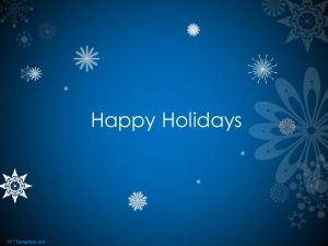 holiday powerpoint templates animated happy holidays ppt template