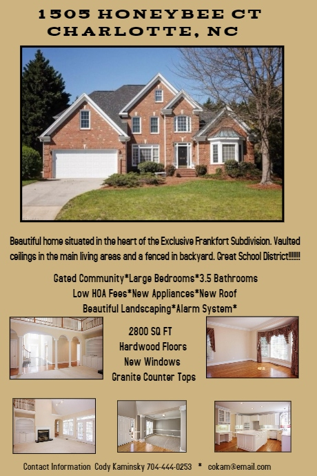 Home For Sale Flyer | Template Business