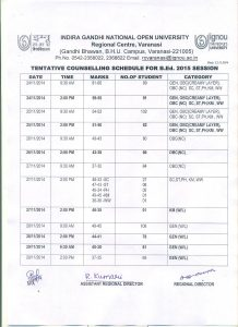 home offer letter bed counselling schedule