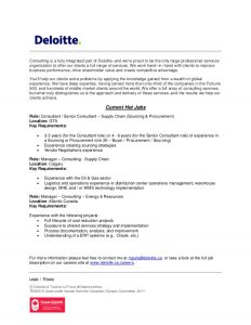 home offer letter deloitte canada strategy operations hot jobs
