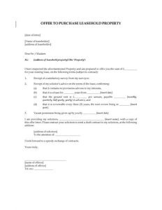 home offer letter template preview
