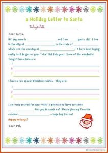 home offer letter template letter to santa template freebie letter to santa kids party craft idea