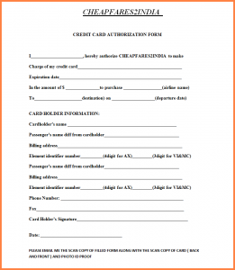 home sales contract cc authorization form cc form