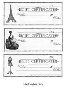 homemade gift certificate giftcertificates