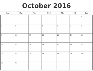 homeschool schedule template october monthly calendar template