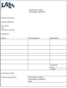Hotel Receipt Template Template Business - Receipt invoice template free