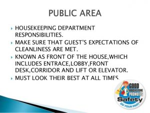 house cleaning contract areas of housekeeping department responsbilities