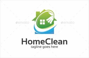 house cleaning logo home cleaning logo