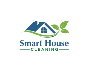 house cleaning logos smart house cleaning logo design