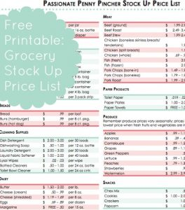 house cleaning price lists free stock up price list