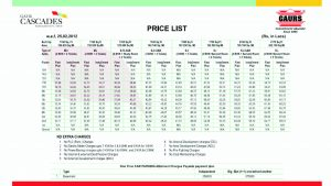 house cleaning price lists price list template