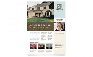 house for sale flyer gb s