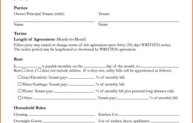 house rental agreement house rental agreement template property house rental agreement template free
