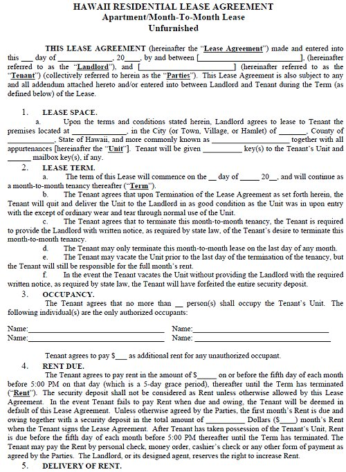 House Rental Agreement Template  Template Business