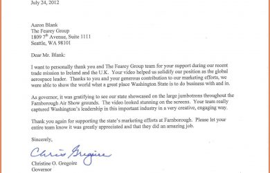 how to end a thank you letter how to end a thank you letter governor letter