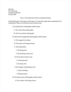 how to outline a research paper examples of research paper thesis statements