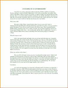 how to write a autobiography how to write an autobiography on school