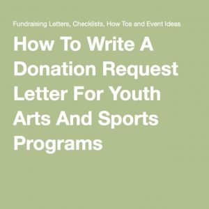 how to write a donation request letter addbcacabbebaa library ideas fundraiser