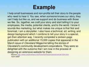 how to write a informative essay perfect your pitch using an elevator speech to impress