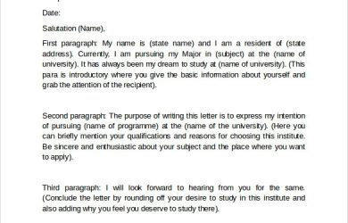 how to write a letter of intent for graduate school letter of intent graduate school free samples examples formats within how to write a letter of intent for graduate school