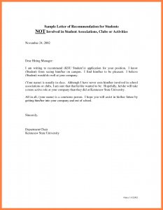 how to write a letter of recommendation how to write a letter of recommendation for a student d7znfijq