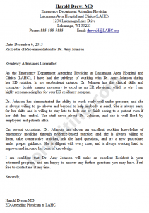 how to write a letter of recommendation letter of recommendation example